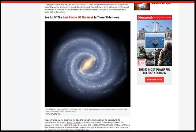 【ガチ】銀河系に謎の物体「Gオブジェクト」が発見される! 科学者困惑「ガスでも星でもない怪奇物体」宇宙人の居住地説もの画像3
