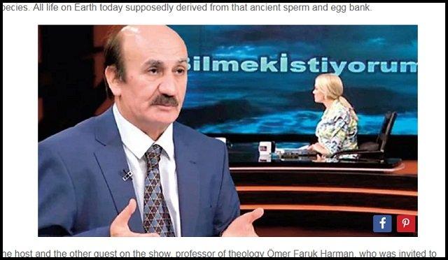 「ノアの方舟は原子力で動く精子バンク」「ノア一家は携帯電話使ってた」 トルコの科学博士がTVでノアの方舟の新事実を暴露!の画像2