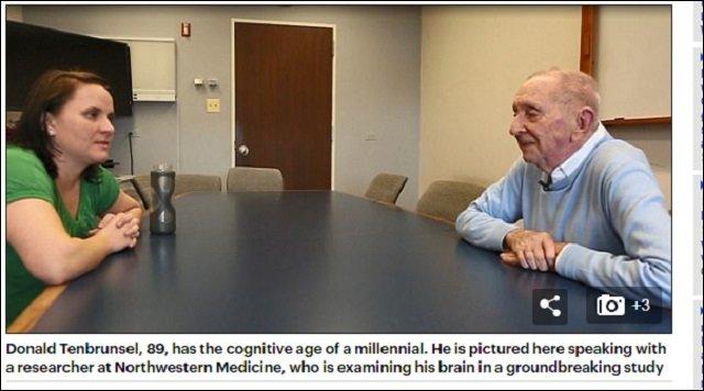 89歳なのに25歳の脳を持つ人々の謎! 永遠に若い脳を持つ「スーパー老人」に研究者も困惑!の画像2