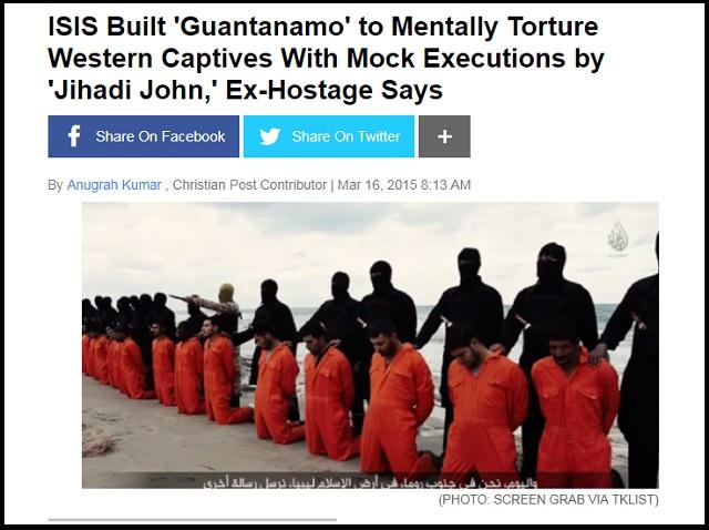 【速報】「イスラム国」が完全復活中とプーチンが緊急警告「700人が人質に取られた」「毎日10人処刑、要求のまないと続く」の画像1