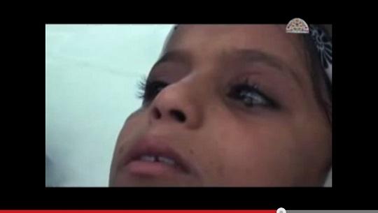 石の涙を流す少女がイエメンに現る!恐怖におののく大人たちで町中がパニックにの画像1