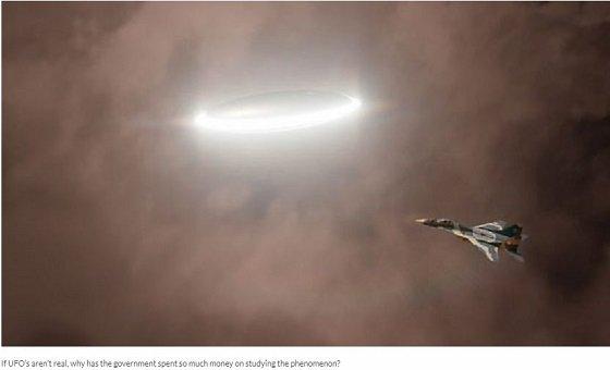 UFOの推進メカニズムを元ペンタゴン職員が暴露! バブルで時空を歪めるワープ航法か!?の画像1