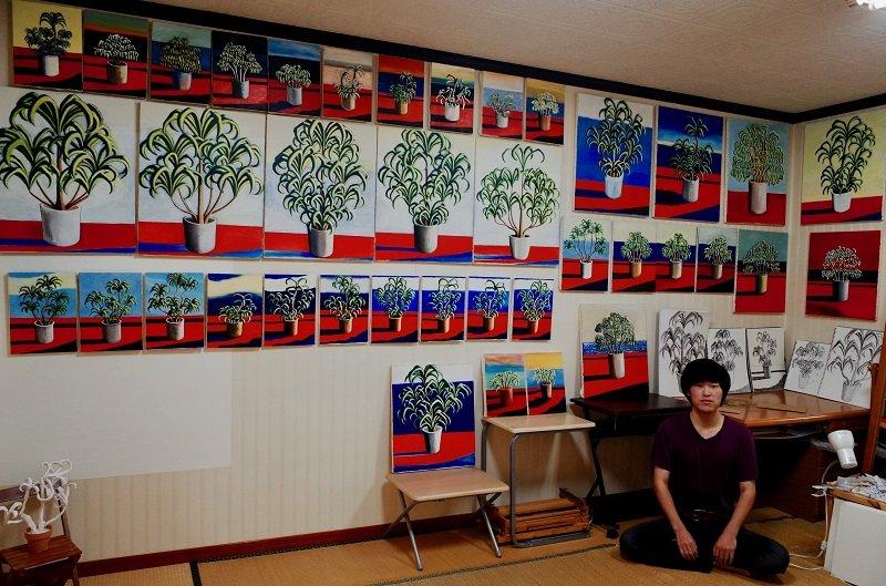 アレフ元信者の画家・太久磨が描き続ける「自画像としての植物」がヤバすぎる! 修行と超絶神秘体験による最尖端アウトサイダーアートを語る!の画像1