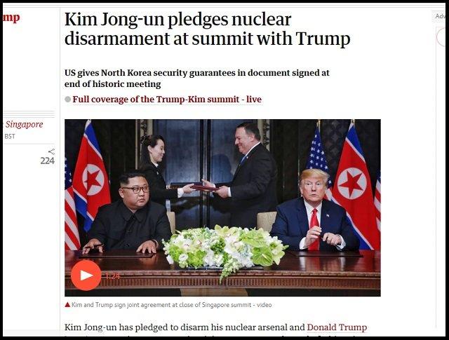 【米朝会談】「北朝鮮を動かしているのは金正恩ではない、彼は役者」「もうすぐ崩壊、CIAが…」政府の内部告発者・Qアノンが暴露!の画像1