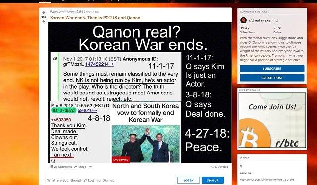 【米朝会談】「北朝鮮を動かしているのは金正恩ではない、彼は役者」「もうすぐ崩壊、CIAが…」政府の内部告発者・Qアノンが暴露!の画像2