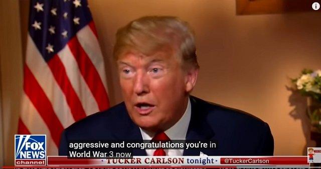 【緊急警告】「第三次世界大戦起きるかも」トランプ大統領が発言! 2020年本格化、米露衝突で予言は「露の勝利」!の画像1