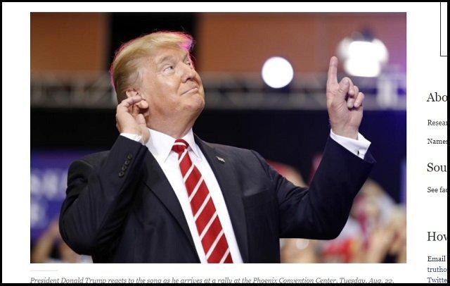 トランプ大統領が描かれた1000年前の刺繍画発見、タイムトラベラー説浮上! 金髪とポーズが完全一致、隣にプーチンの姿も!の画像1