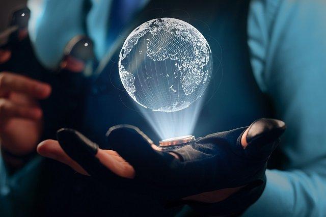 【衝撃映像】世界がホログラムである決定的証拠が撮影される! 空をブロックする謎の巨大長方形に世界が驚愕!の画像1