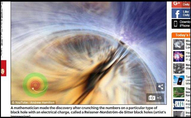 【朗報】ブラックホールに落ちると「自分の過去を抹消できる」ことが判明! 数学者が証明、非決定論的アナザーワールドにも行ける!の画像1