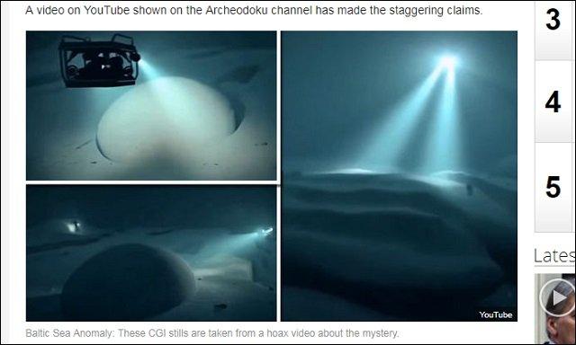 6年間謎のドーム型オーパーツ「バルト海の異物」に新展開! 表面にアトランティスの古代象形文字、電波も発信!の画像1