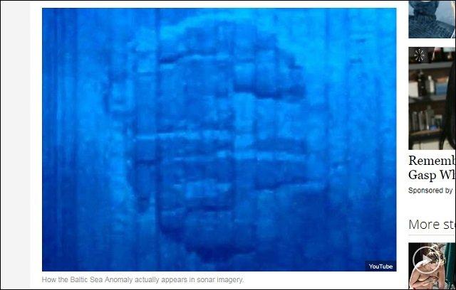 6年間謎のドーム型オーパーツ「バルト海の異物」に新展開! 表面にアトランティスの古代象形文字、電波も発信!の画像2