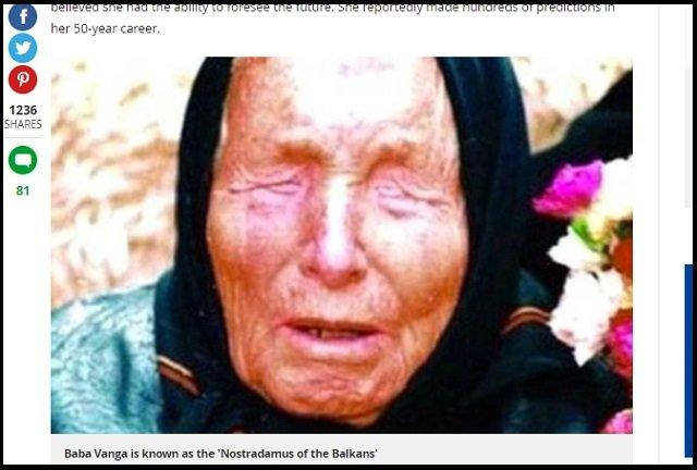 最高予言者ババ・ヴァンガが40年前に「プーチンが核戦争を起こす」と予言していた! 第三次世界大戦で人類滅亡間近!の画像1