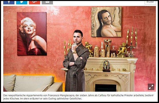 【衝撃】男娼がゲイ神父34人を実名告発「聖職者からSNSでペニス画像も送られた」! カトリックの同性愛嫌悪は完全に偽善だった!の画像2