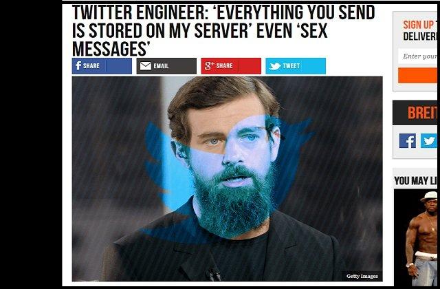 現役ツイッター社員が衝撃暴露「あらゆるツイート・写真・DMは永久保存され、自由に閲覧可能」「削除してもムダ。ペニス画像多すぎ」の画像1
