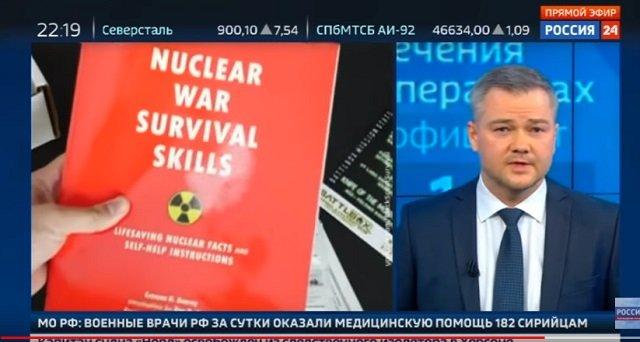 【悲報】ロシア国営テレビ「ハルマゲドンに備えよ」とガチ警告! 米との核戦争を示唆、シェルターに食料とガスマスクを用意せよと指南!の画像2