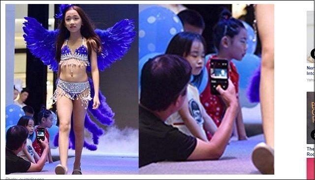 幼女らをセクシー下着モデルに起用! 中国のヴィクトリアズ・シークレット風ファッションショーに非難殺到「まるでペドセンター」の画像3