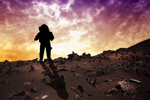 地球生命が火星からやって来た2つの科学的根拠とは? 米教授「われわれは火星人」の画像1
