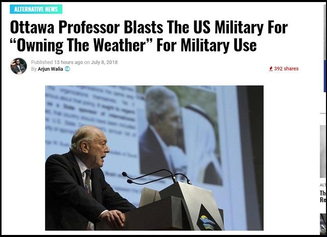 【ガチ】「豪雨・地震・異常気象…気象兵器で実現可能」大学教授ら暴露! HAARPには核兵器ばりの破壊力も!?の画像1