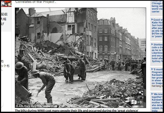 【悲報】第三次世界大戦は統計的には確実に起きると判明! 戦争時期も算出、平和は続かない!の画像4