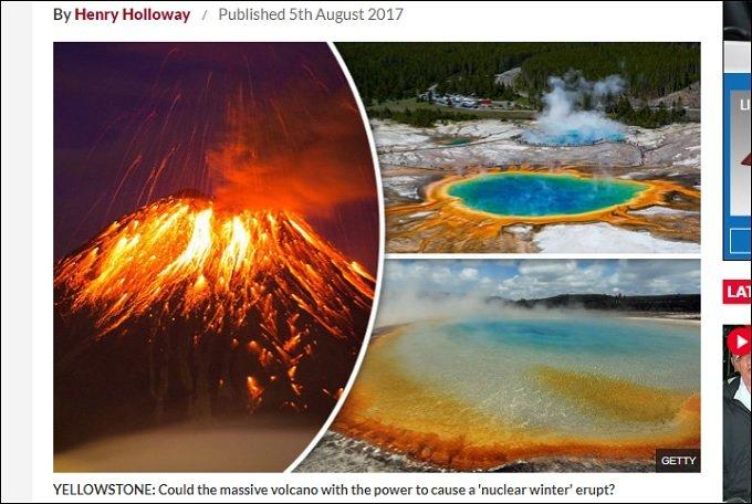 米・イエローストーンの破局噴火が迫っている!? 火山灰が降り注ぎ、全地球が氷河期突入、人類滅亡へのカウントダウンが始まった!の画像1