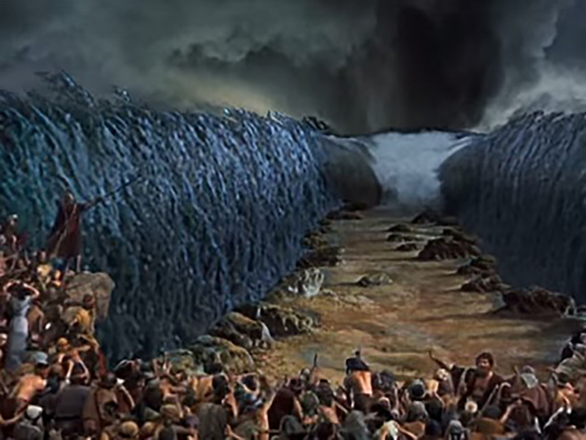 モーゼ の 奇跡