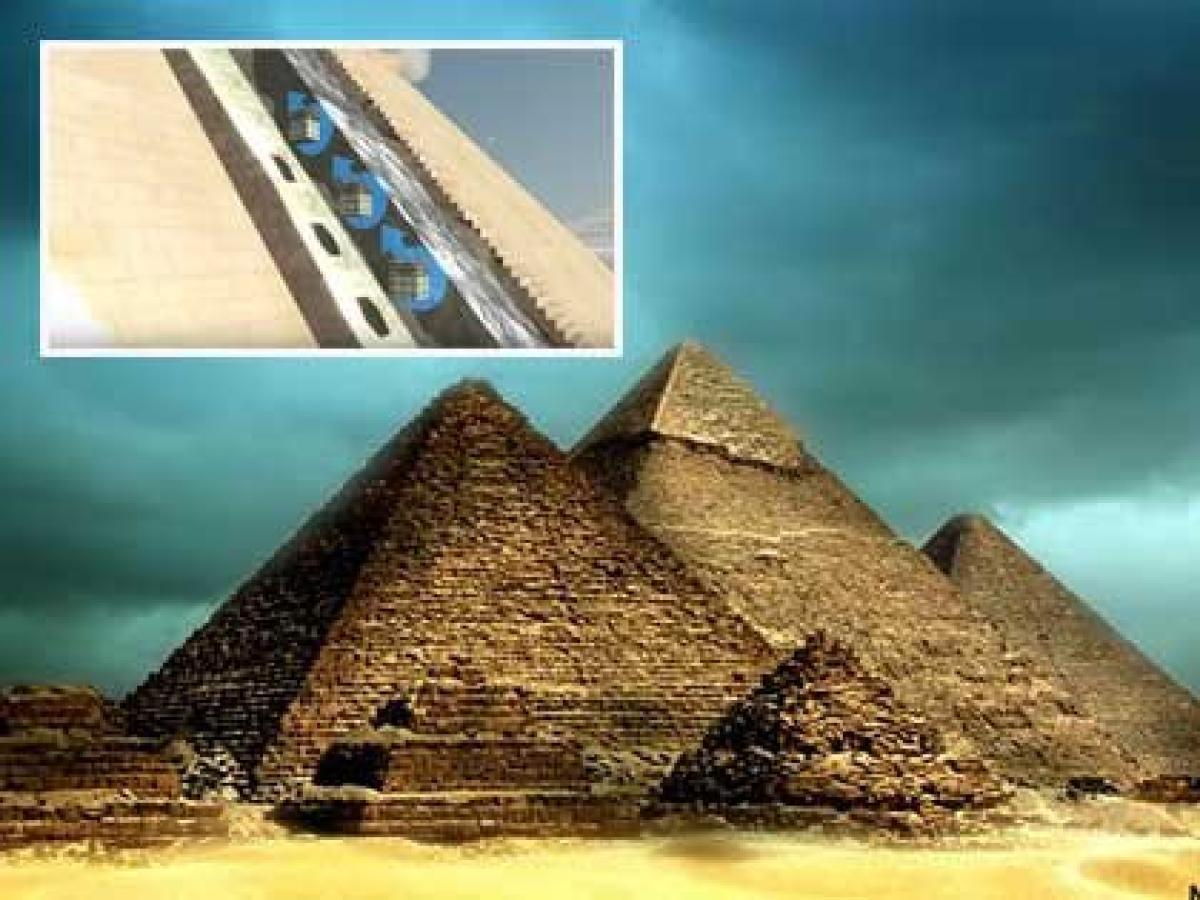エジプト ピラミッド 作り方