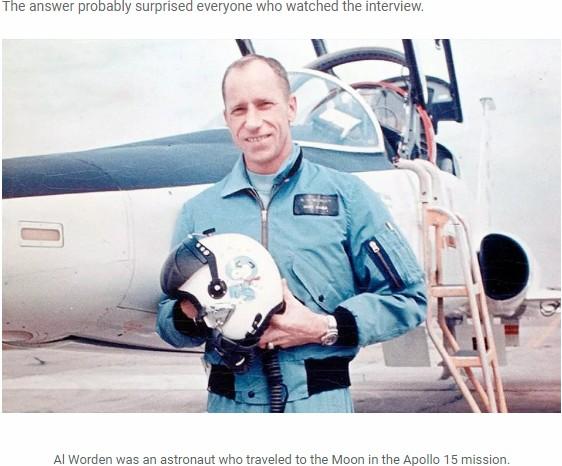 「人類はエイリアンの子孫」アポロ15号の宇宙飛行士がTVでガチ断言! 小さな宇宙船に乗ってやって来た… スタジオ騒然=英の画像3