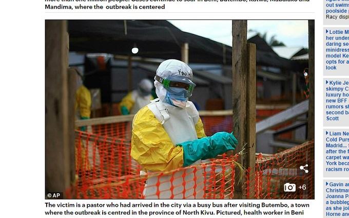 エボラ生物兵器説 ― 秘かに囁かれる驚愕の事実と大国の野望の画像1
