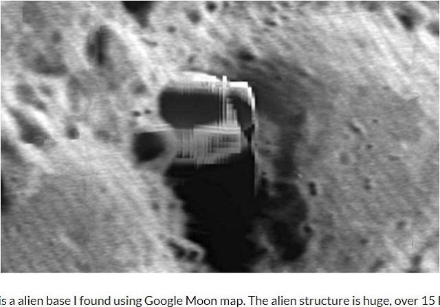 【衝撃】月面に超巨大収容施設が存在することがグーグルムーンで発覚! 「NASAの隠蔽ミス」識者断言、エイリアンの空き家か!?の画像1