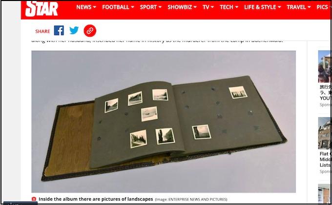 ナチス収容所で殺害された「ユダヤ人の皮」製の写真アルバムが発見される! 悪臭、毛髪… イルゼ・コッホのコレクションか!?