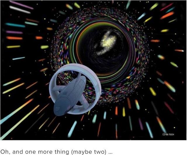 ついにワームホールを安全に通り抜ける方法が発覚! 1万光年を1秒で移動、カギは5次元宇宙だった!(最新研究)の画像2